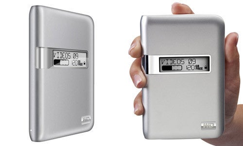 Western Digital My Passport Studio Drives, Now With E-Paper