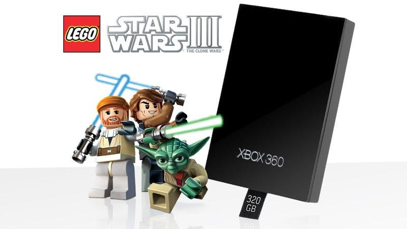 Star Wars Xbox Delayed, Microsoft Executes 320GB Star Wars Hard Drive Plan B