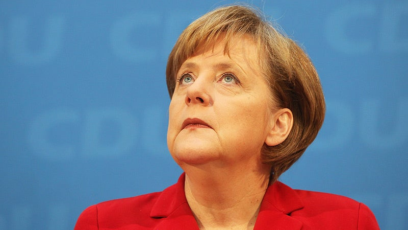 German Chancellor Gets Criminal Complaint for Praising Bin Laden's Death