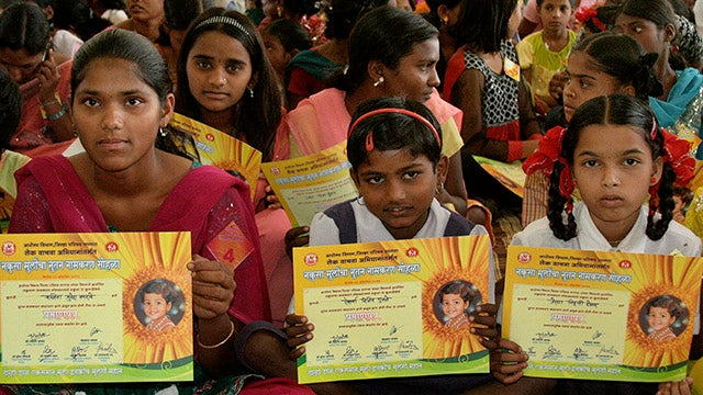 'Unwanted' Girls Are Given New Names
