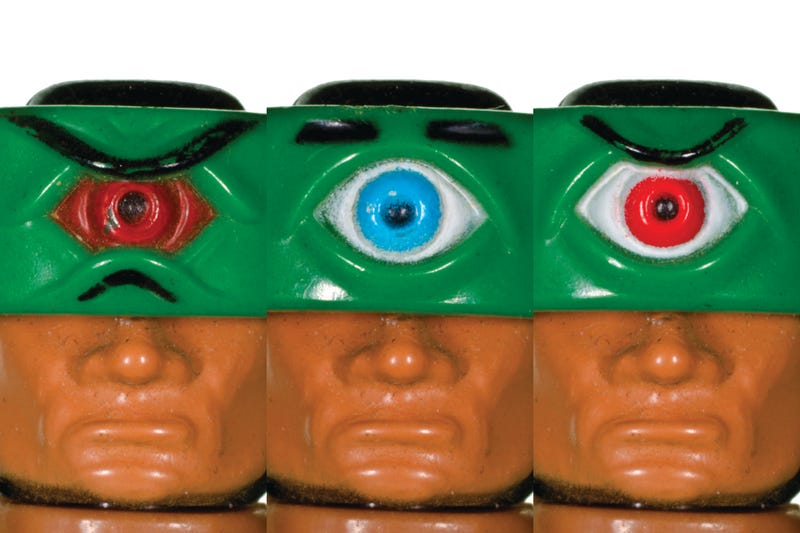 """Soul of Toys"", a Gallery of Ugly Mugs atop the Shoulders of our Favorite Action Figures"