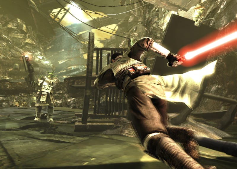 The Force Unleashed: Epic Moments And Mindless Slaughter