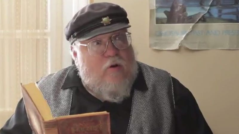 George R.R. Martin Appeared on Gay of Thrones and It Was Everything