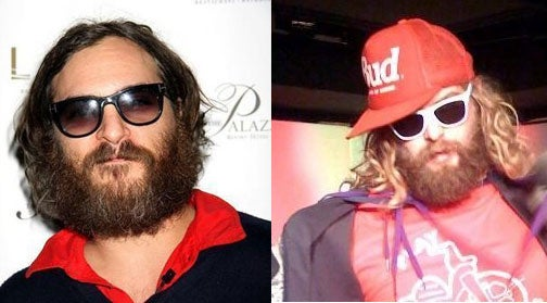 Did A Disguised Joaquin Phoenix Crash This Gay Sundance Party?
