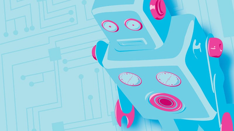 Finally Robotic Beings Rule Your Desktop with These Wallpapers
