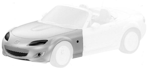 2010 Mazda MX-5 Renderings Leaked By EU Patent Office