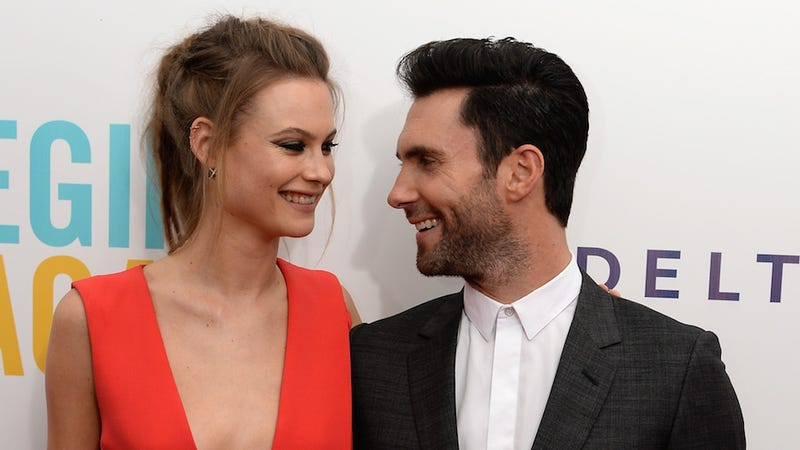 Adam Levine is Officially Off the Market, Ladies