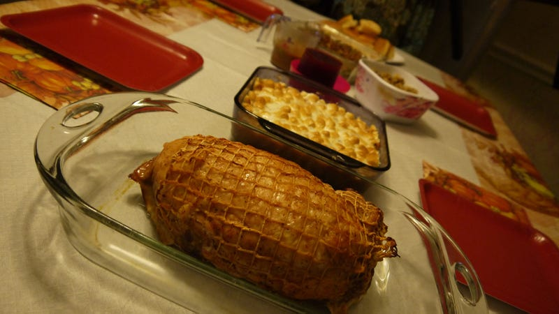 Snacktaku's Turducken Thanksgiving Feast