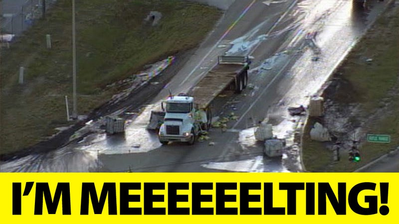 If a Truck Loaded With Sulfuric Acid Crashes, Does It Melt the Road?