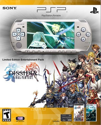 Dissidia Final Fantasy Gets Its Own PSP Bundle