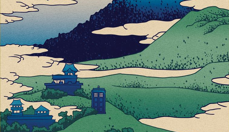River Song, Weeping Angels and Silurians invade Art history in these classy Doctor Who prints