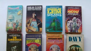 science fiction paperbacks V:  the quest for peace