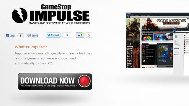 GameStop's Online Store Becomes One with Impulse