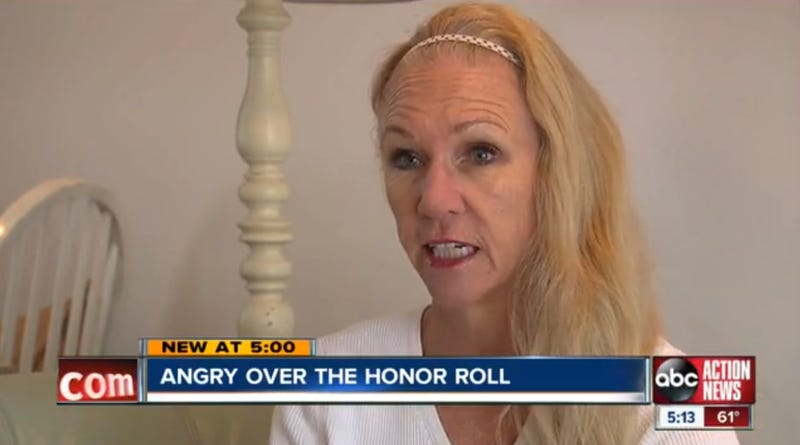 Florida Mother Outraged After School Puts Son on Honor Roll