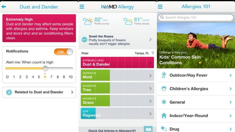 WebMD Allergy, Readmill, and More