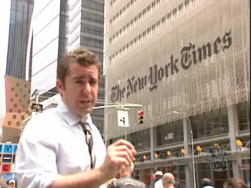 The Daily Show Visits the New York Times, Purveyors of 'Aged News'