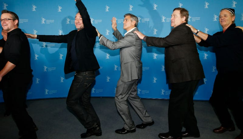 Bill Murray, John Goodman, George Clooney and Matt Damon Do the Conga