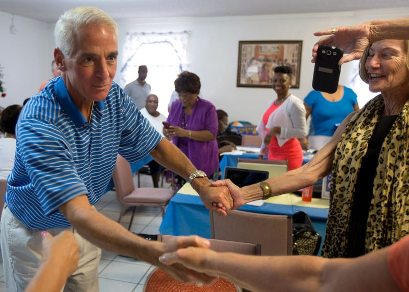 Charlie Crist Calls On Rick Scott Not to Defend FL Gay Marriage Ban