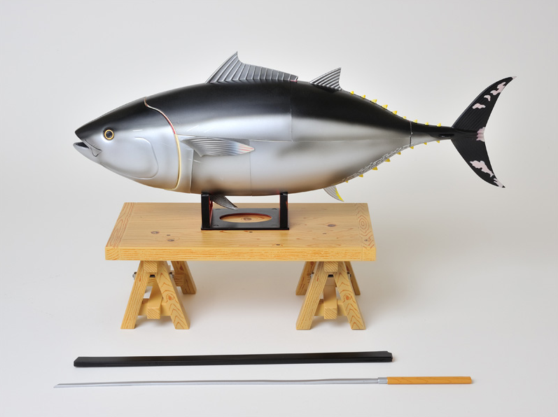This Model Tuna Makes Gutting Fish a Much Less Messy Game