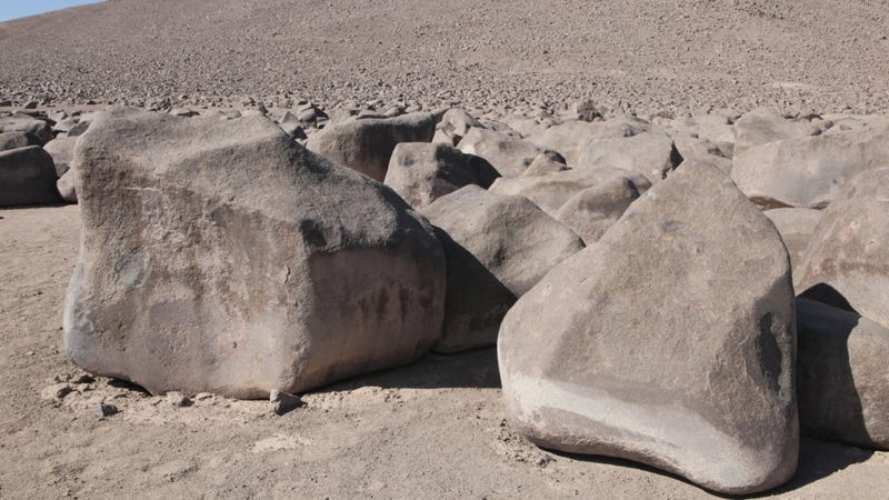 The Mysterious Rubbing Rocks of the Atacama Desert
