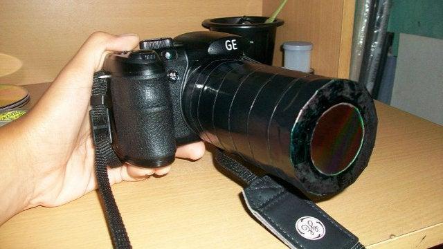 Camera DIY Solar Filter