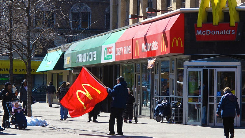 McDonald's Seeks to Lure Hobos Away from Starbucks