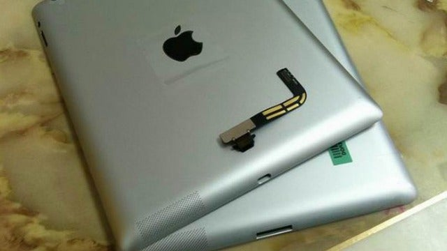 Is This a Refreshed iPad 3 With a Lightning Port?