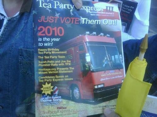 Tea Partiers Save Print, Sell $20 Magazine