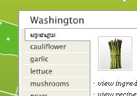 Interactive Map Shows What's In Season at Your Grocery Store