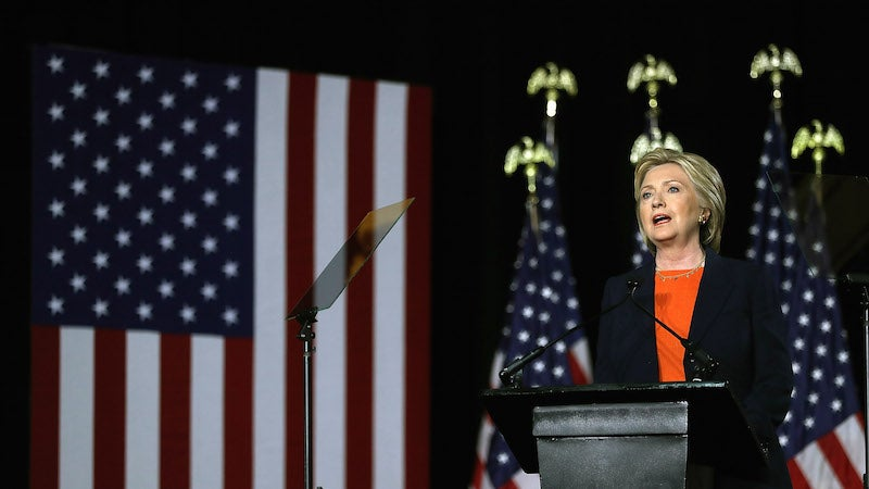Hillary Clinton's Foreign Policy Plan: Donald Trump Is a Crazy Person