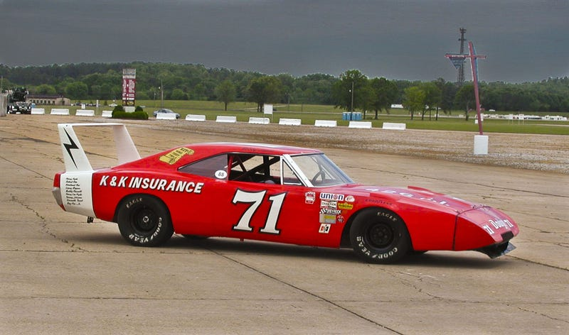 How a NASCAR driver set 28 speed records with a banned car and lots of beer