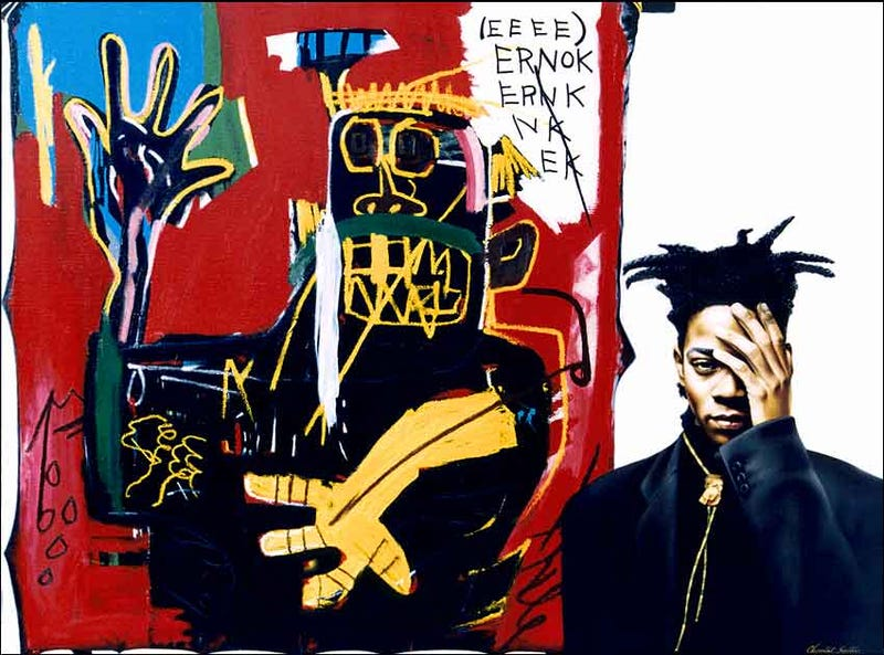Basquiat Painting Found Above 14th Street