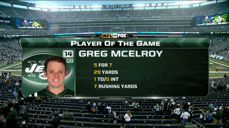 Greg McElroy Is Your Player Of The Game