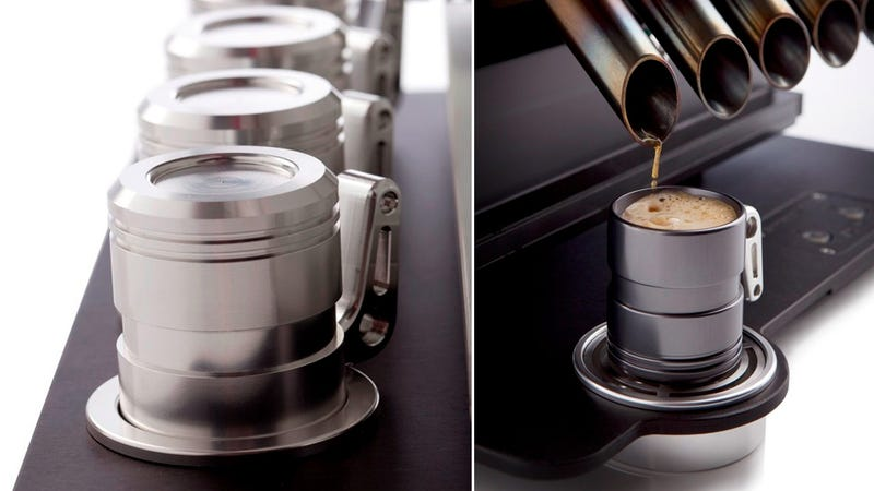 Go From Zero To Caffeinated In No Time With a V12 Espresso Machine
