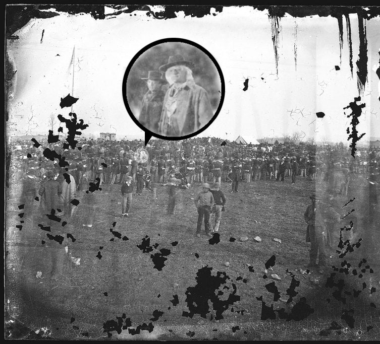 33 People Hiding in This Iconic Photo of Gettysburg Who Aren't Lincoln