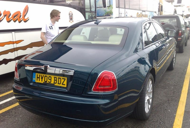 Rolls Royce Ghost Spotted, Driven By Lesser Dukes