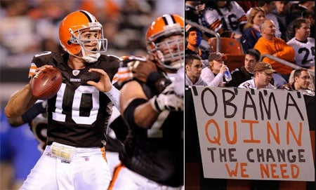 Quinn's Debut Inspires A Nation, Browns Lose As Usual