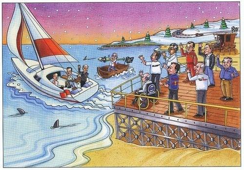 Bernie Ecclestone's F1 Christmas Card Roasts Briatore