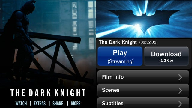 Warner Bros Releases The Dark Knight and Inception As iPhone Apps