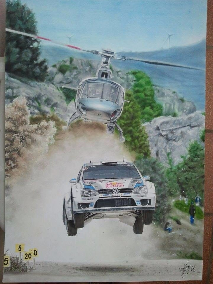WRC Painting
