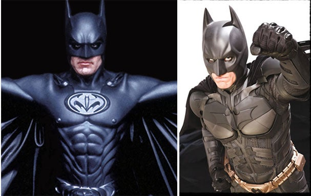 New Batsuit Has Bra Cups Instead Of Nipples