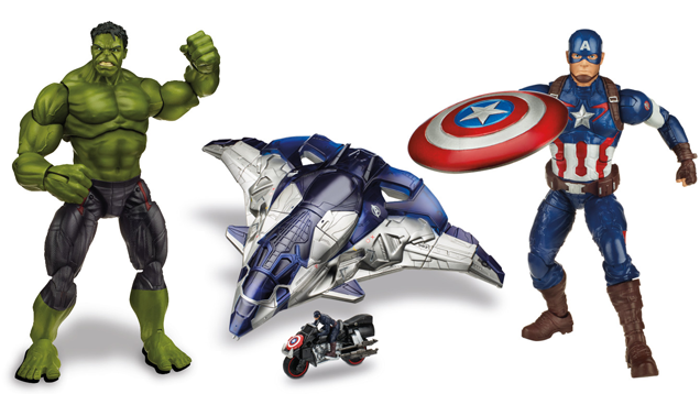 These are your first Age of Ultron toys