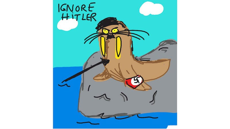 Ignore Hitler When You Play Draw Something With This Guy