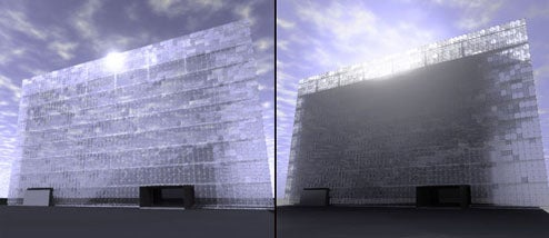 Beijing's Gigantic LED Wall Is Fully Solar Powered