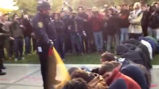 Infamous Pepper-Spraying Police Officer No Longer at UC Davis