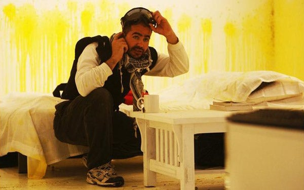An Iraqi Artist Explains His Cyber-Masochism