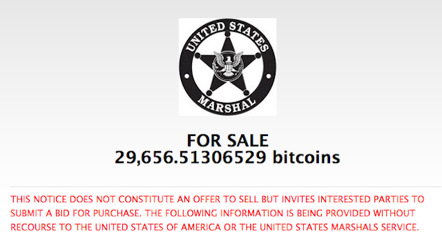 Feds Auctioning Off Drug Dealer Bitcoins at Liquidation Prices