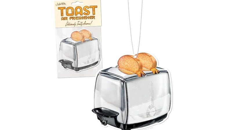Why on Earth Would You Make Your Car Smell Like Toast?