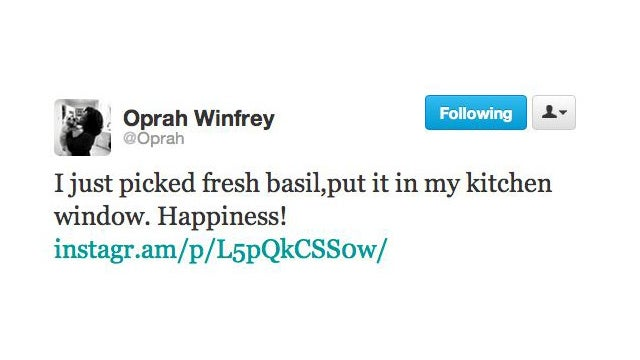 Oprah Grows Her Own