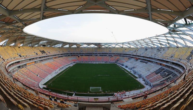 Why Your World Cup Stadium Sucks: Arena Amazonia, Manaus